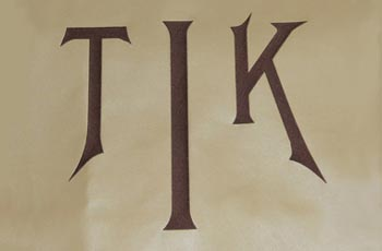 TIK Monogram Embroidery